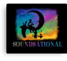 Soundsational Canvas Print