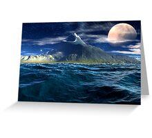 Sea Mount Greeting Card