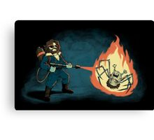 KILL IT WITH FIRE Canvas Print