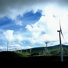 Te Apiti wind farm by Louise Marlborough Creative