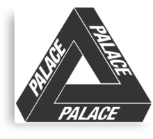 Palace Skateboards Tri Ferg Canvas Print