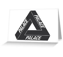 Palace Skateboards Tri Ferg Greeting Card