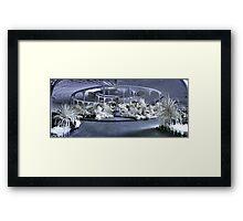 Palace Panorama Framed Print
