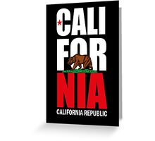 California Republic Greeting Card