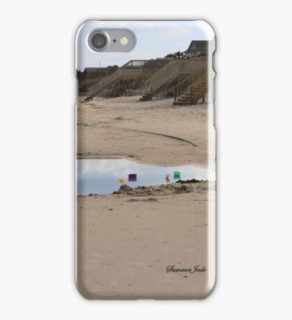 Late Afternoon Delight ~ Beach Time iPhone Case/Skin