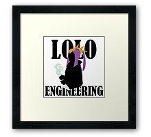 Lolo Engineering Framed Print