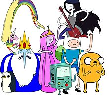 Adventure Time by tomoulden