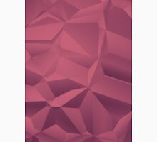 Red polygon background Unisex T-Shirt