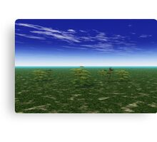 Lush Landscape Canvas Print