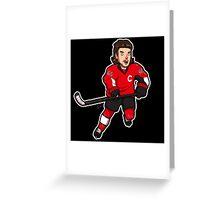 Mini Erik Karlsson Greeting Card