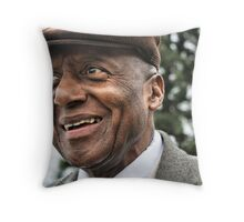 Scat Man Throw Pillow