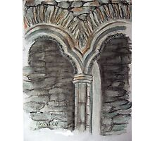 Arch Recesses Photographic Print