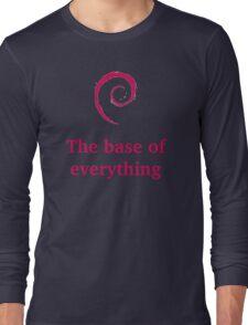 debian - the base of everything Long Sleeve T-Shirt