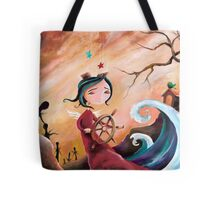 Not An Angel, But a Girl With Wings Tote Bag