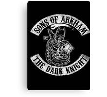 Sons Of Arkham The Dark Knight Canvas Print