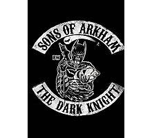 Sons Of Arkham The Dark Knight Photographic Print