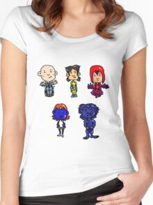 X-men Together Women's Fitted Scoop T-Shirt