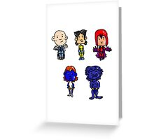 X-men Together Greeting Card