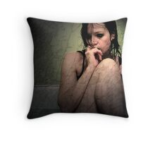 She Always Liked to Fall Apart.  Throw Pillow