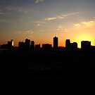 Knoxville TN skyline by dc witmer