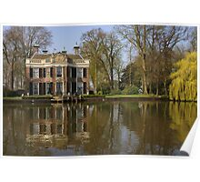 A Stately Home on River the Vecht Poster