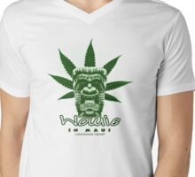 wowie in maui! Mens V-Neck T-Shirt