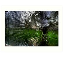 Water wall. Art Print