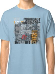 German words abstract comp Classic T-Shirt