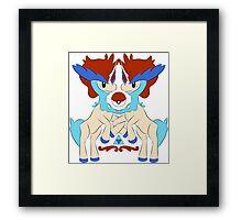 royal keldeo large Framed Print