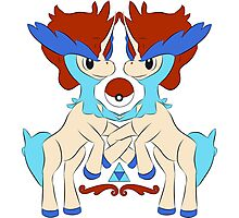 royal keldeo large Photographic Print