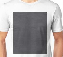 Blackboard or chalkboard texture Unisex T-Shirt
