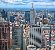 City of Melbourne, Australia by vadim19