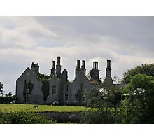 An Old Derelict House Photographic Print