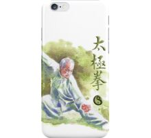 Tai Chi Chuan iPhone Case/Skin