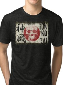 Kamikaze spirit composition Tri-blend T-Shirt
