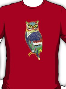 The Colourful Owl of Madness T-Shirt