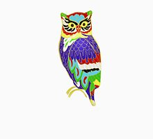 The Colourful Owl of Madness Unisex T-Shirt