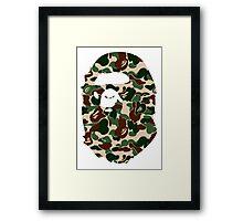 BAPECAMO Framed Print