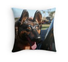 It's a dogs life Throw Pillow