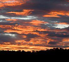Sky burn by Mark van den Hoek