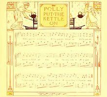 The Baby's Boquet - A Fresh Bunch of Old Rhymes and Tunes - by Walter Crane - 1900-13 Polly Put The Kettle On by wetdryvac