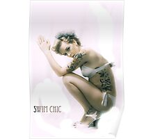 swim chic dives Poster