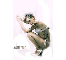 swim chic dives Photographic Print