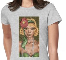SupersagiA* Womens Fitted T-Shirt