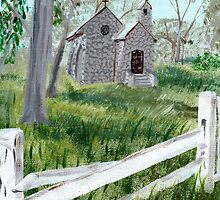 St Paul's Anglican Church by Bob Hardy