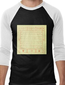 The Baby's Boquet - A Fresh Bunch of Old Rhymes and Tunes - by Walter Crane - 1900-14 Hot Cross Buns Men's Baseball ¾ T-Shirt