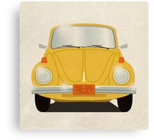 Yellow Beetle Canvas Print
