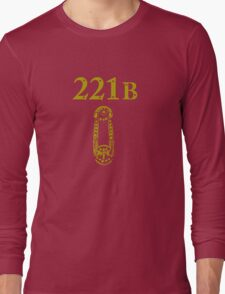 221B Baker Street Long Sleeve T-Shirt