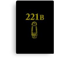 221B Baker Street Canvas Print