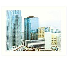 Canada Skyline Art Print